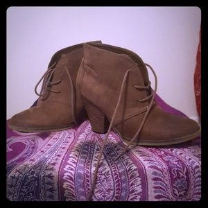 MIA ANKLE BOOTS WOMENS SIZE 7